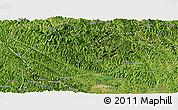 Satellite Panoramic Map of Bose