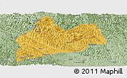 Savanna Style Panoramic Map of Bose