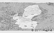 Gray Panoramic Map of Chongzuo