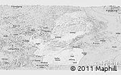 Silver Style Panoramic Map of Chongzuo