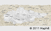 Classic Style Panoramic Map of Du An