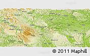 Physical Panoramic Map of Du An