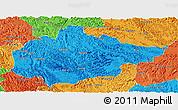 Political Panoramic Map of Du An