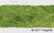 Satellite Panoramic Map of Du An
