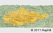 Savanna Style Panoramic Map of Du An