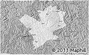 Gray 3D Map of Fengshan