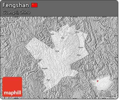 Gray Map of Fengshan