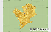 Savanna Style Map of Fengshan, single color outside