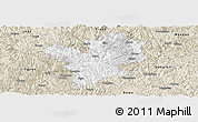 Classic Style Panoramic Map of Fengshan