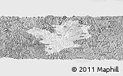 Gray Panoramic Map of Fengshan