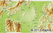 Physical 3D Map of Fuchuan