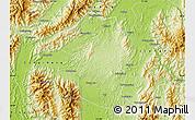Physical Map of Fuchuan