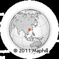 Outline Map of Fuchuan