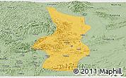 Savanna Style Panoramic Map of Fusui