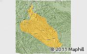 Savanna Style 3D Map of Jingxi