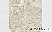 Shaded Relief 3D Map of Jingxi