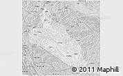 Silver Style 3D Map of Jingxi