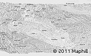 Silver Style Panoramic Map of Jingxi