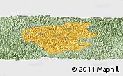 Savanna Style Panoramic Map of Leye