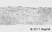Silver Style Panoramic Map of Leye