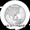 Outline Map of Lingui