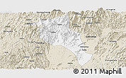 Classic Style Panoramic Map of Lingui