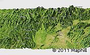 Satellite Panoramic Map of Lingui