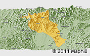 Savanna Style Panoramic Map of Lingui