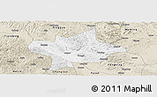 Classic Style Panoramic Map of Long An