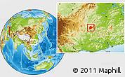 Physical Location Map of Longsheng