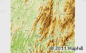 Physical Map of Longsheng
