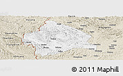 Classic Style Panoramic Map of Longzhou