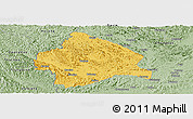 Savanna Style Panoramic Map of Longzhou