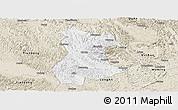 Classic Style Panoramic Map of Pingguo