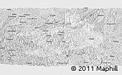 Silver Style Panoramic Map of Tian E