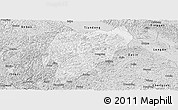 Silver Style Panoramic Map of Tiandeng