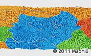 Political Panoramic Map of Tianlin