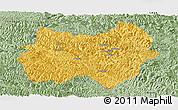 Savanna Style Panoramic Map of Tianlin