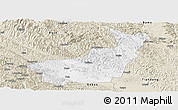 Classic Style Panoramic Map of Tianyang