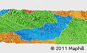 Political Panoramic Map of Tianyang