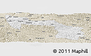 Classic Style Panoramic Map of Xilin