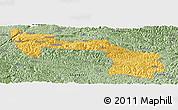 Savanna Style Panoramic Map of Xilin