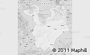 Silver Style Map of Yongning