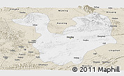 Classic Style Panoramic Map of Yongning