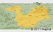 Savanna Style Panoramic Map of Yongning