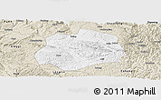 Classic Style Panoramic Map of Anlong