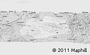 Silver Style Panoramic Map of Anlong