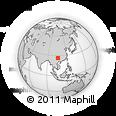 Outline Map of Anshun