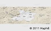 Classic Style Panoramic Map of Anshun