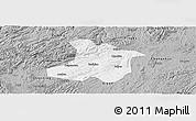Gray Panoramic Map of Anshun